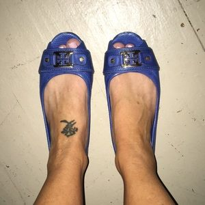 Tory Burch open toe flats